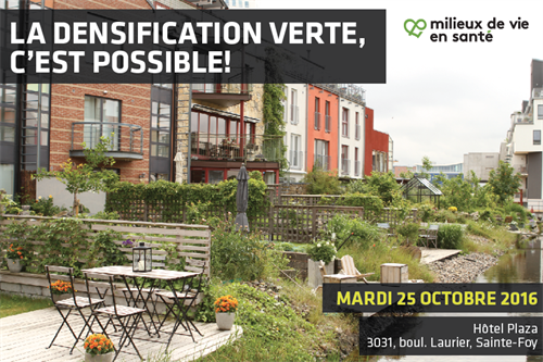 Densification verte 25 octobre 2016